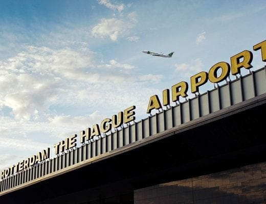 Rotterdam Airportplein, Rotterdam, Nederland