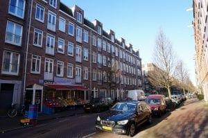 Groen van Prinstererstraat, Amsterdam, Nederland
