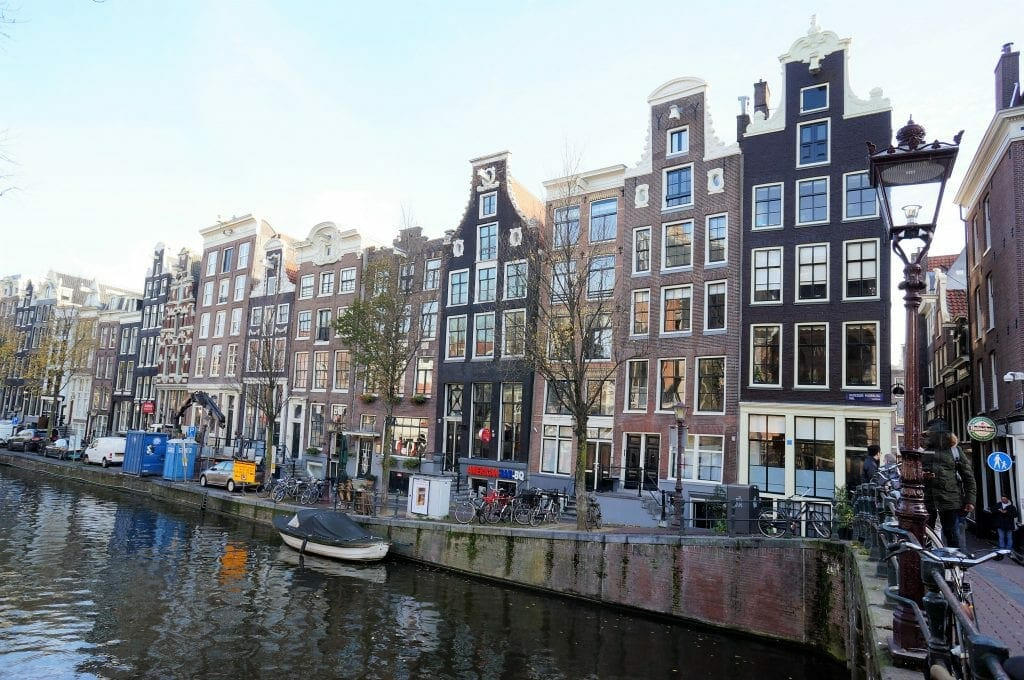 Oudezijds Voorburgwal, Amsterdam, Nederland