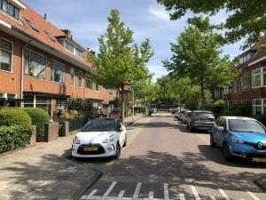 Tesselschadestraat, Leiden, Nederland