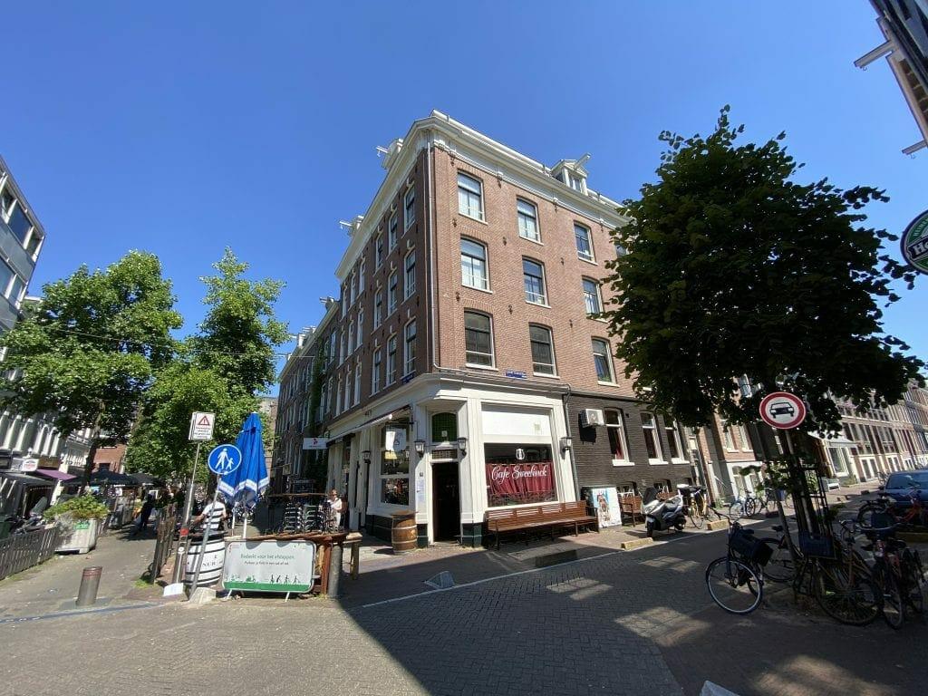 Eerste Sweelinckstraat, Amsterdam, Nederland